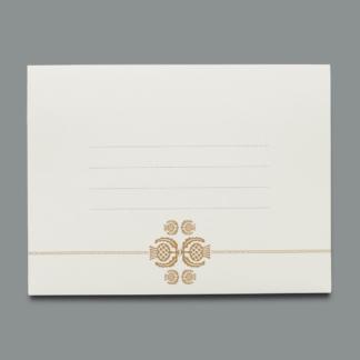 Enveloppe graphique Glyphes