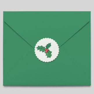 Autocollant Noël pour enveloppes