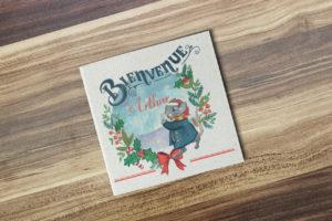 Faire-part naissance Noël