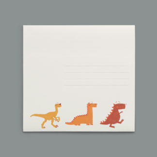enveloppes dinosaure