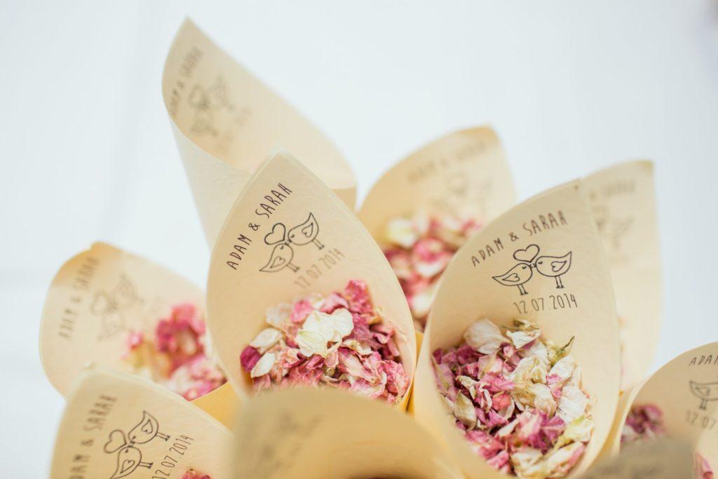 Décorer ma table de mariage bouquet